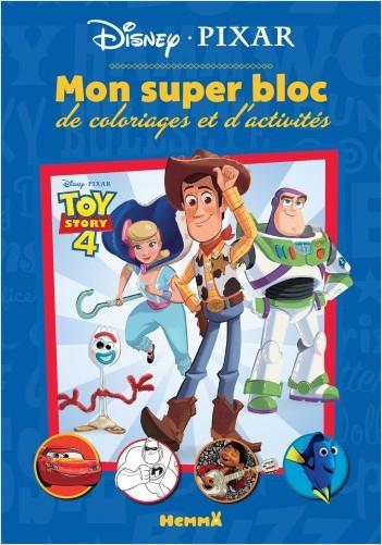 Disney Pixar - Mon super bloc de coloriages et d'activités