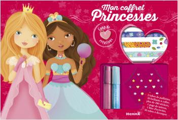 Coup de coeur créations - Mon coffret princesses - Coffret au contenu riche avec stickers et strass pour habiller les modèles - dès 4 ans