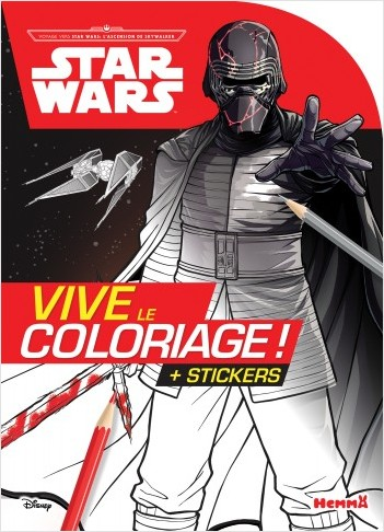 Disney Star Wars Voyage vers SW L'Ascension de Skywalker - Vive le coloriage !