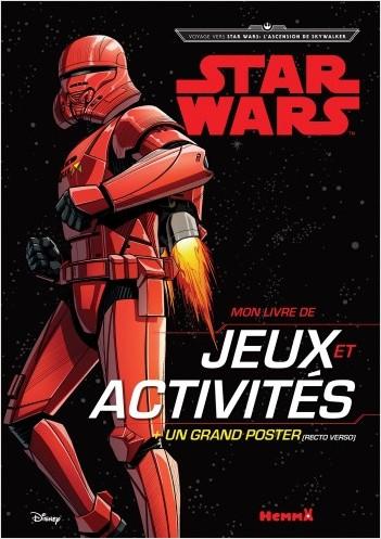 Disney Star Wars Voyage vers l'Ep IX - Mon livre de jeux et activités + un grand poster