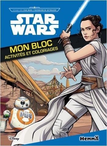 Disney Star Wars Voyage vers SW L'Ascension de Skywalker  - Mon bloc activités et coloriages
