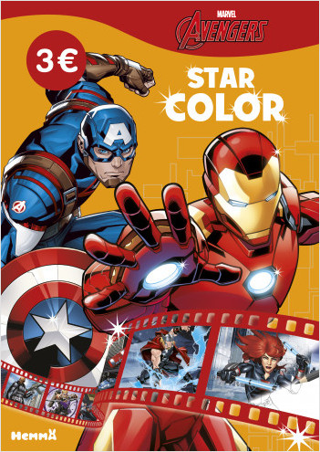 Marvel Avengers - Star Color (Captain America et Iron Man)