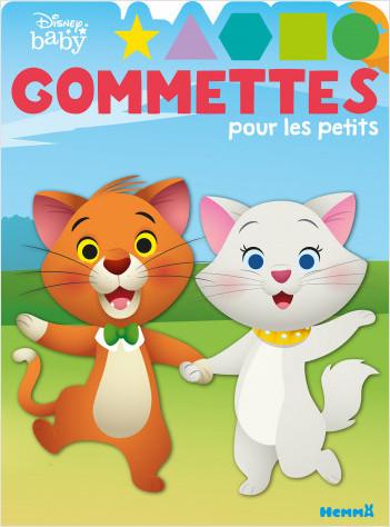Disney Baby - Gommettes pour les petits (Aristochats)