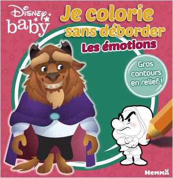 Disney Baby - Je colorie sans déborder - Les émotions (La Bête et Grincheux)