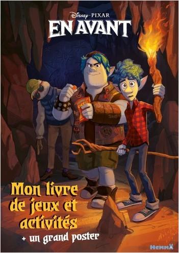 Disney En avant - Mon livre de jeux et activités + un grand poster