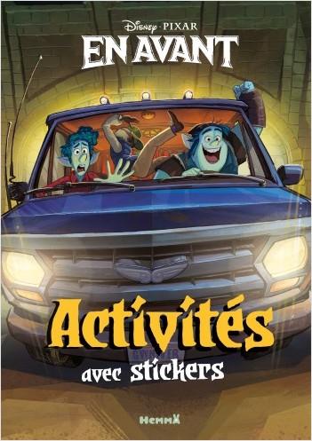 Disney En avant - Activités avec stickers