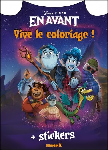 Disney En avant - Vive le coloriage !