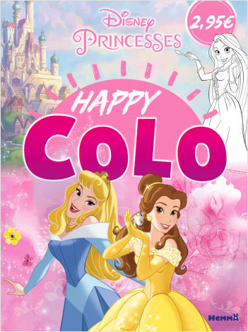 Disney Princesses - Happy Colo