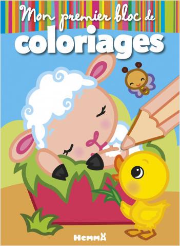 Mon premier bloc de coloriages (La Ferme-Mouton)