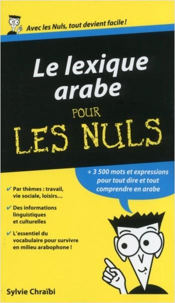 Lexique arabe pour les Nuls