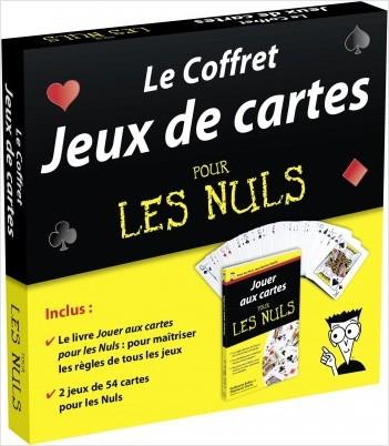 Le Coffret Jeux de cartes pour les Nuls