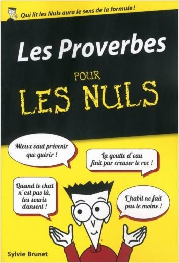 Les Proverbes poche pour les Nuls