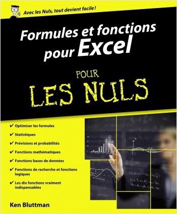 Formules et fonctions pour Excel 2013 et 2016 pour les Nuls