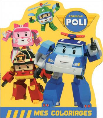 Robocar Poli - Mes coloriages - Les sauveteurs