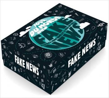 Tour du monde des fake news - Jeu de société d'ambiance de 2 à 6 joueurs - Dès 14 ans